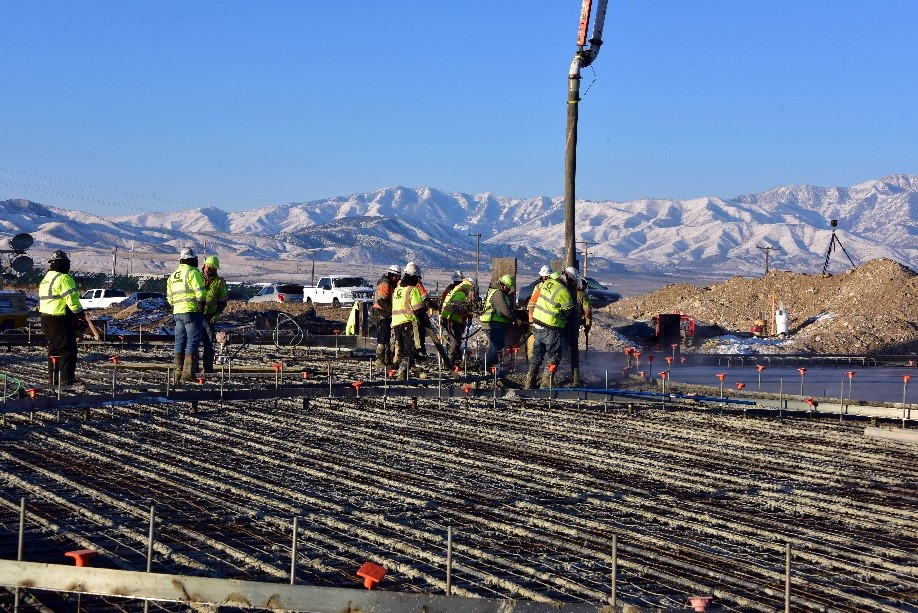 Construction of New Utah Plant
